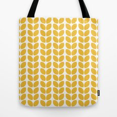 leaves - yellow Tote Bag