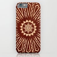 Ozorahmi Wood Mandala iPhone 6 Slim Case