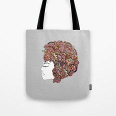 Her Hair - Les Fleur Edition Tote Bag