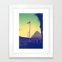 Twistee Treat Framed Art Print