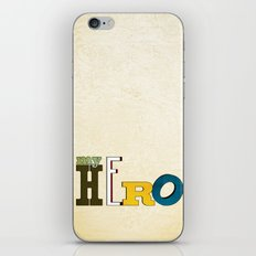 myHERO iPhone & iPod Skin