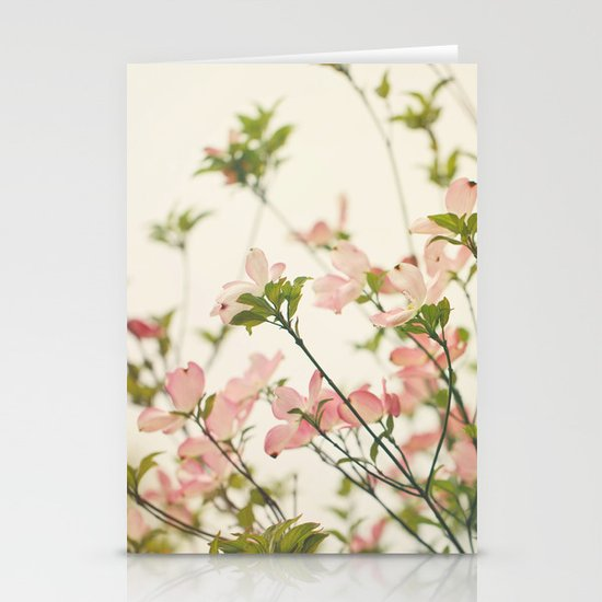 Under the Dogwood Tree  Stationery Card