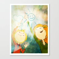 Friendship Canvas Print