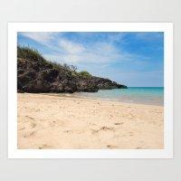 Hapuna beach Art Print