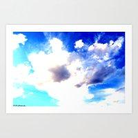 Blue Skies Will Never Fa… Art Print