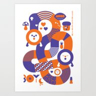 AXOR Heroes - Noby Noby … Art Print