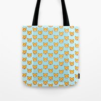 CORGI CORGI CORGI EVERYWHERE Tote Bag