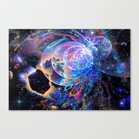 Transitory Cosmos Canvas Print