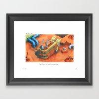 POP HELL #2 Framed Art Print