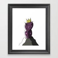 KINDERLAND 3 Framed Art Print