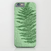 iPhone Cases featuring Fern by Mr and Mrs Quirynen