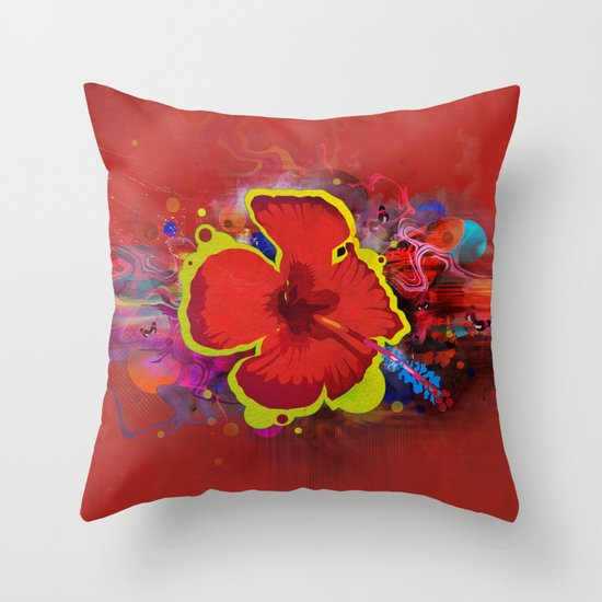 What the Flux... Throw Pillow