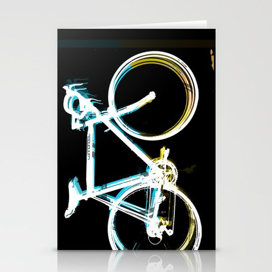 the bicycle Stationery Card
