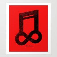 Music Forever Art Print