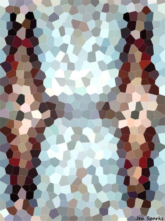 Memory Blur Art Print