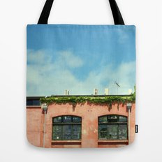 all covered in vines Tote Bag