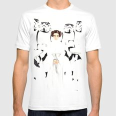 Star Princess Mens Fitted Tee White SMALL