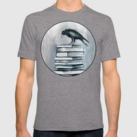 I Don't Read As Much As I'd Love To Anymore Mens Fitted Tee Tri-Grey SMALL