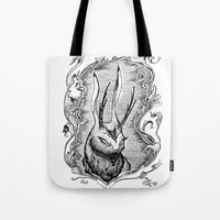The Jackalope Tote Bag