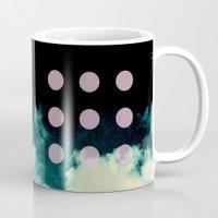 Clouds + Dots Mug