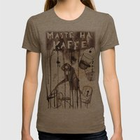 Must Have Coffee Womens Fitted Tee Tri-Coffee SMALL