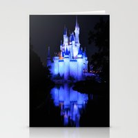 Cinderella's Castle III Stationery Cards