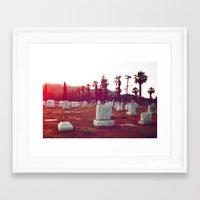 The Death Of California Framed Art Print