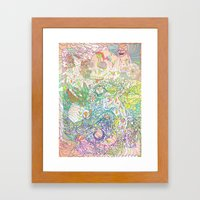 This Sea of Love Framed Art Print
