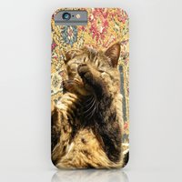 iPhone & iPod Case featuring Why you wake me up? by Bret Caiazzi