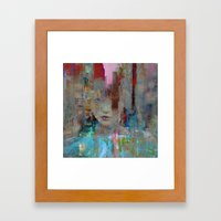My First Day In The City Framed Art Print