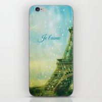 Paris, I Love You iPhone & iPod Skin