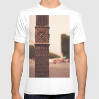 Paris Details Mens Fitted Tee White SMALL