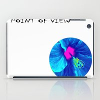 Intimate Blue iPad Case