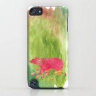 Baer  With Flowers I iPod touch Slim Case