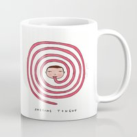 Awesome tongue Mug