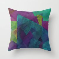 Shapes#4 Throw Pillow