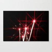 Explosions in the Sky 2 Canvas Print