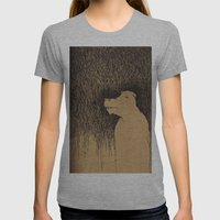 Fading Slowly Womens Fitted Tee Athletic Grey SMALL