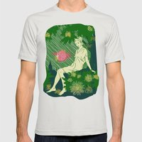 Divina Melancholia Mens Fitted Tee Silver SMALL