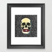 SMACK Framed Art Print