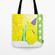 Party Cat Tote Bag