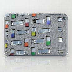 Coloured doors iPad Case