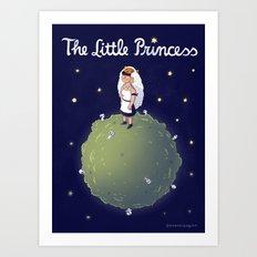 The Little Princess Art Print
