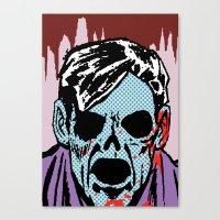 The Postmodern Dead: Lloyd Canvas Print