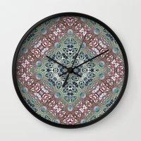 Victorian Garden 2 Wall Clock