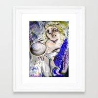 Cosmic Sacred Sound Framed Art Print