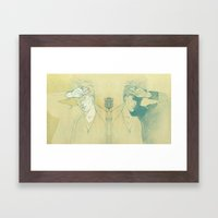 Jeff Buckley. Framed Art Print