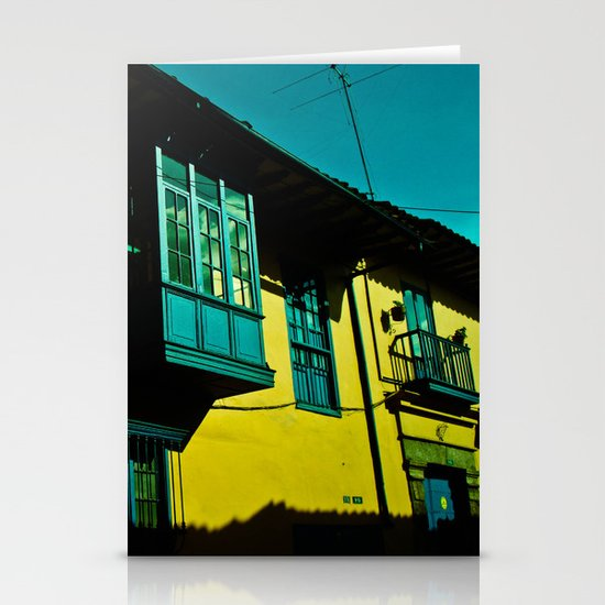THE BALCONY IN CANDELARIA Stationery Card