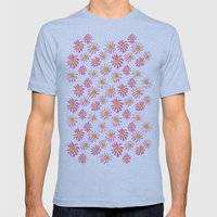 Daisy Mens Fitted Tee Athletic Blue SMALL