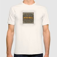 Golostorial Knox Mens Fitted Tee Natural SMALL